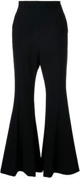 G.V.G.V. Cady flared trousers