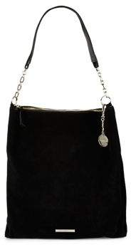 Donna Karan Spacious Leather Hobo Bag