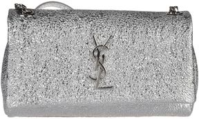 Saint Laurent West Hollywood Shoulder Bag - SILVER - STYLE