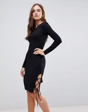 Finders Keepers Weston Long Sleeved Bodycon Dress
