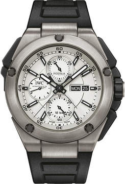 IWC IW386501 Ingenieur rubber and titanium watch