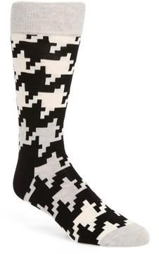 Happy Socks Men's Digital Houndstooth Socks
