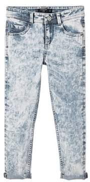 MANGO Skinny bleached jeans