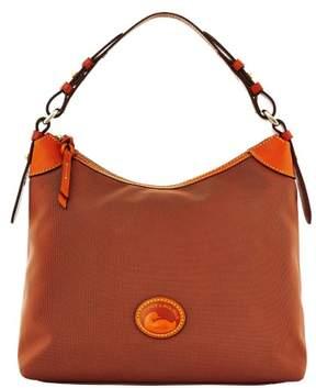 Dooney & Bourke Nylon Large Erica Shoulder Bag - BROWN - STYLE