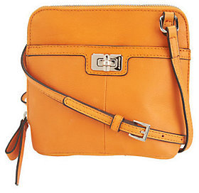 B. Makowsky Maise Glove Leather Zip Around Mini Crossbody Bag