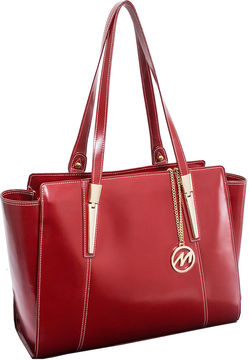 Mcklein McKleinUSA Aldora Leather Tote with Tablet Pocket