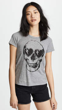Chaser Heart Eyes Skull Tee