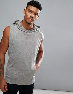 2XU Training Forsoft Sleeveless Hoodie In Gray MR4539A-CTO