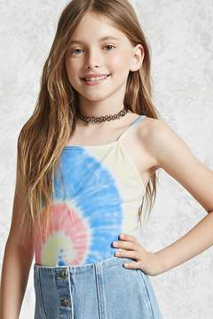 Forever 21 Girls Tie-Dye Bodysuit (Kids)