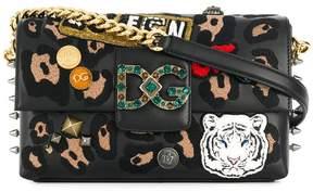 Dolce & Gabbana Millennials shoulder bag with appliqués