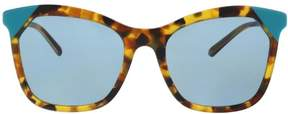 Burberry BE4263 371080 Brown havana/azure Butterfly Sunglasses