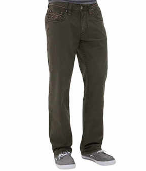 Rock Revival Twill Relaxed Straight Pant