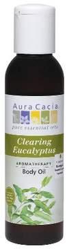 Aura Cacia Clearing Eucalyptus Aromatherapy Body Oil - 4 oz