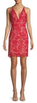Dress the Population Marie Floral Lace Dress