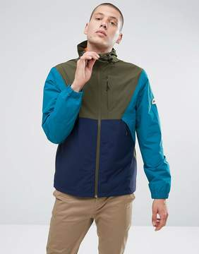 Penfield Cochato Hooded Jacket Techical Waterproof Tricolor in Green