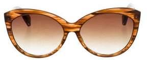 Dita Jacquard Cat-Eye Sunglasses