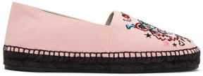 Kenzo Pink Limited Edition Tiger x I Love You Espadrilles