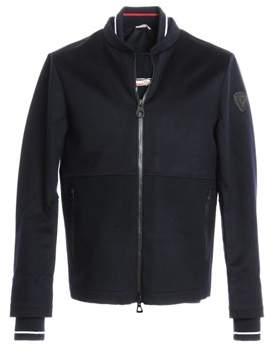 Rossignol Men's Blue Wool Outerwear Jacket.