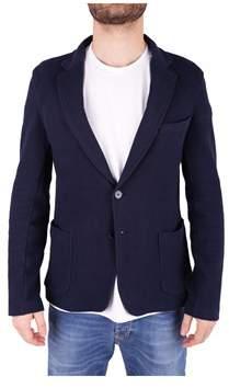 Trussardi Men's Blue Wool Blazer.