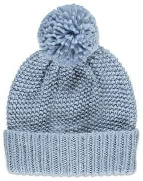 Forever 21 Textured Knit Pom Beanie