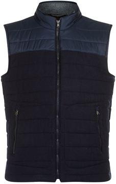 Hackett Insulated Wool Gilet