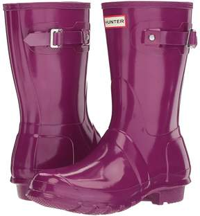 Hunter Original Short Gloss Rain Boots Women's Rain Boots