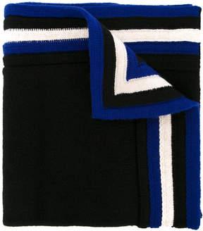 Lanvin stripe detail scarf
