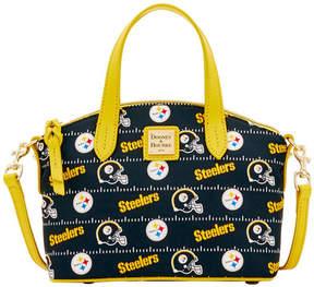 Dooney & Bourke Pittsburgh Steelers Nylon Mini Crossbody Satchel - BLACK - STYLE