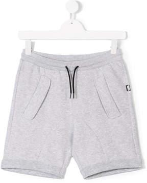 Karl Lagerfeld TEEN drawstring track shorts