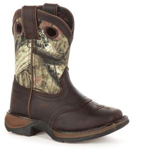 Durango Lil Sadle Kids Camouflage Western Boots