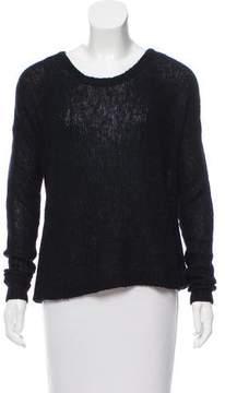 BLK DNM Scoop Neck Long Sleeve Sweater