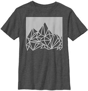 Fifth Sun Charcoal Heather Mountain Climb Tee - Boys