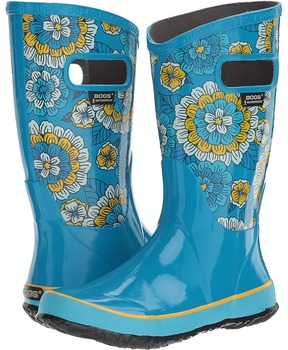 Bogs Pansies Rain Boot Girls Shoes