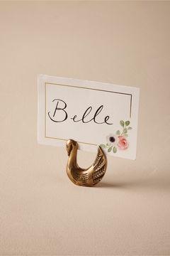 Swan Card Holder