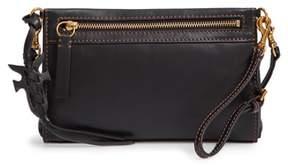 Frye Carson Leather Wristlet/Clutch