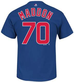 Majestic Men's Chicago Cubs Joe Maddon Player Name and Number Tee