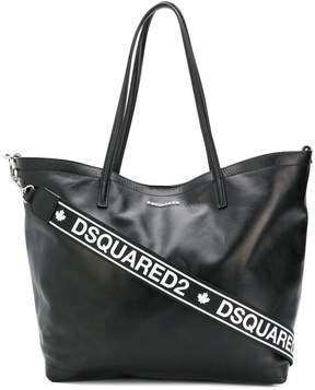 DSQUARED2 logo tote bag