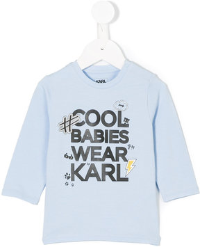 Karl Lagerfeld Cool Babies Wear top