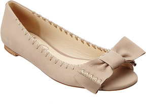 Delman Sami Leather Flat