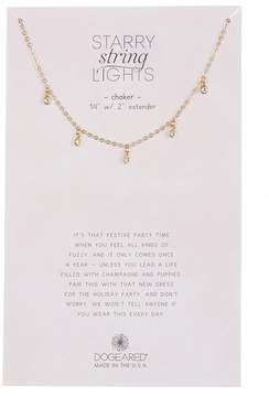 Dogeared Dangling Crystal Accent Necklace