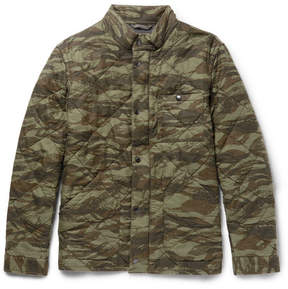 J.Crew Sussex Camouflage-Print Quilted Cotton Jacket