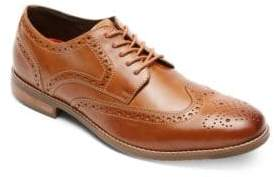 Rockport Leather Wing-Tip Oxfords