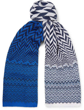 Missoni Crochet-Knit Cotton Scarf