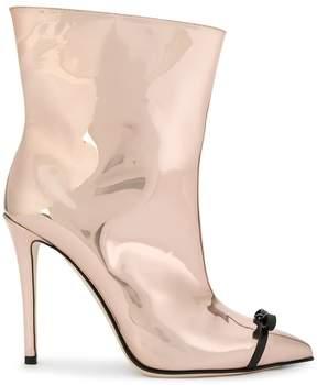 Marco De Vincenzo bow detail boots