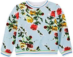 Milly Kids' Floral French Terry Sweatshirt