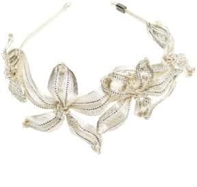 Colette Malouf - Mesh Diamond Botanical Headband