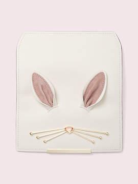 Kate Spade Make it mine bunny flap