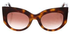 Max Mara Oversize Cat-Eye Sunglasses