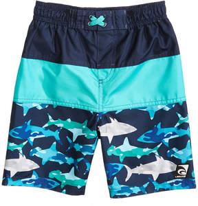 Trunks Laguna Underwater Camo Colorblocked Swim Trunks, Toddler Boys