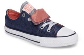 Converse Girl's Chuck Taylor All Star Double Tongue Sneaker